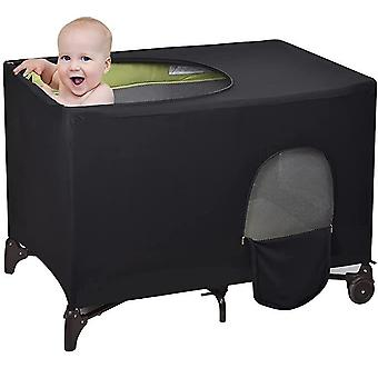 Housse de lit de bébé portable Lit d'occultant respirant