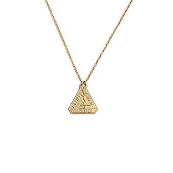 Fashion 18ss Forever Best Friends Triangle Split Engraved Letters Harajuku Simple Long Necklace Men And Women Jewelry Gifts