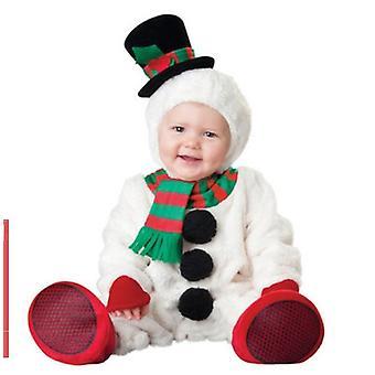 Costume de bonhomme de neige pour le bébé