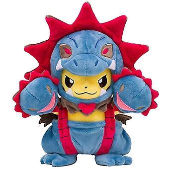 Pokemon Pikachu Cosplay Stuffed Plush Doll 22cm