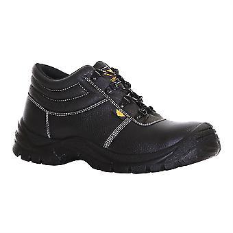 Slimbridge Thum grootte 12 Veiligheidslaarzen, zwart