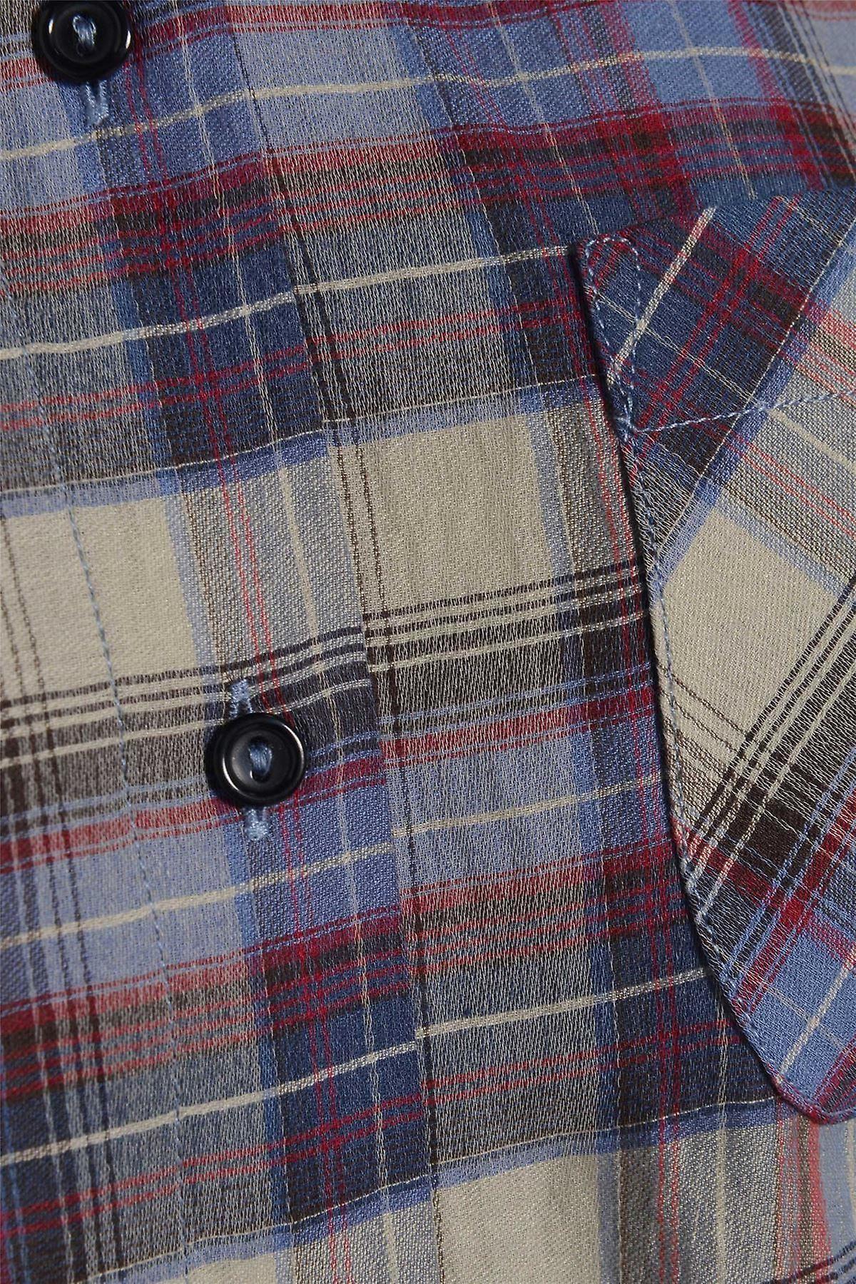 Long Sleeve Check Shirt TP554-8