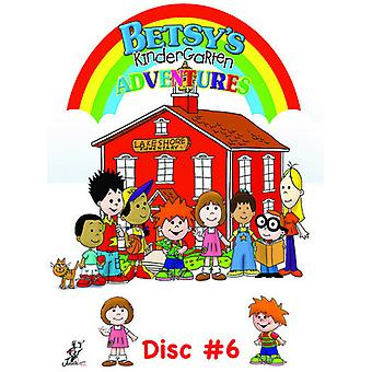 Betsy's Kindergarten Adventures 6 [DVD] USA import