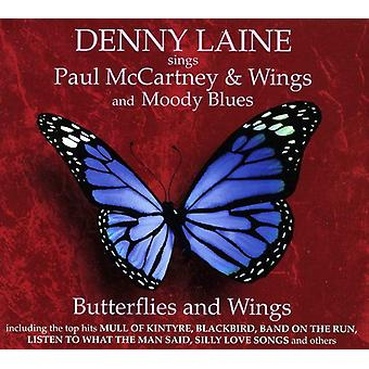 Denny Laine - Butterfly & Wings: Denny Laine Sings Paul McCartn [CD] USA import
