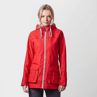 Nieuwe Peter Storm dames weekend jas rood