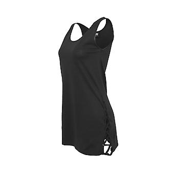 Urban Classics Leather Imitation Side Knotted Tank