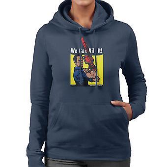 We Can Kill It Ash Vs Evil Dead Women's Hooded Sweatshirt