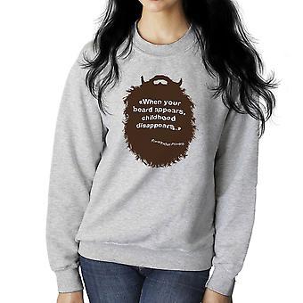 The Beard Collection Childhood Women's Sweatshirt