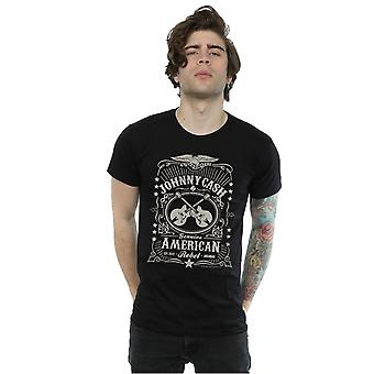 Johnny Cash Men's American Rebel T-Shirt