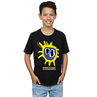 Primal Scream Boys Screamadelica Logo T-Shirt