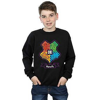 Harry Potter Boys Hogwarts Junior Crest Sweatshirt