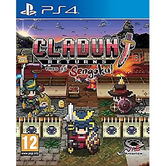 Cladun Returns: Dit is Sengoku! PS4 spel