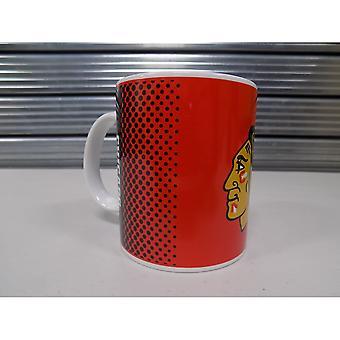 Forever Collectibles Nhl Chicago Blackhawks Fade Mug