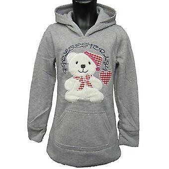Teddy flickor Hoodies Fleece tröja