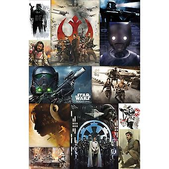Star Wars Rogue One� - Collage Poster Poster Print