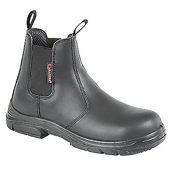 Grafter Mens Wide Fitting Safety Dealer Boots