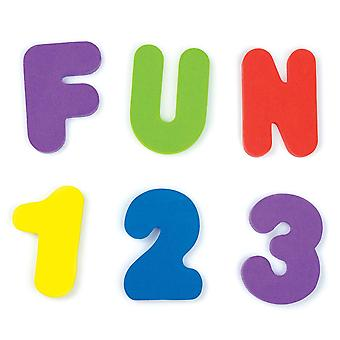 Munchkin 36 Bath Letters & Numbers
