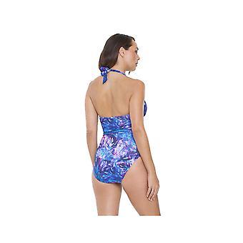 Seaspray SY007045 Women's Multicolour Motif Costume One Piece Swimsuit