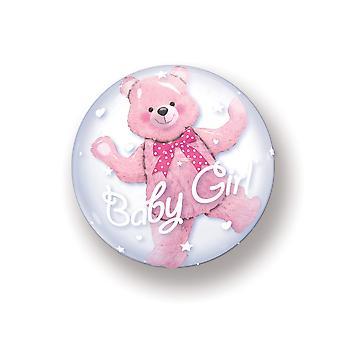 Doppia bolla palloncino in mongolfiera nascita ragazza ragazza bambino circa palloncino 60cm