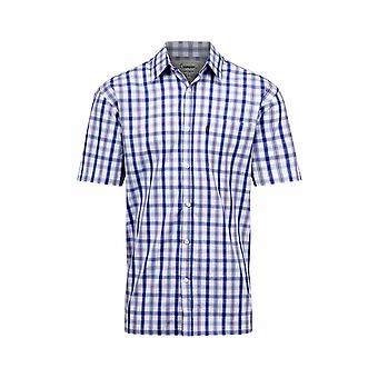 Mestari miesten maan Lymington lyhyt hiha puuvilla paita