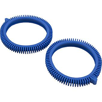 Poolvergnuegen 896584000-143 Front Tire Kit with Super Hump Pack of 2 - Blue