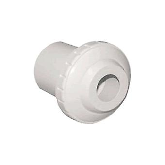 "Waterway 400-1420D 3/4"" Eyeball Insert Inlet Fitting - White 4001420D"