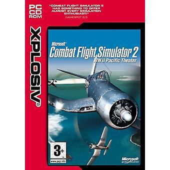 Microsoft Combat Flight Simulator 2 - WWII Pacific Theatre Xplosive Range (PC CD) - Uusi