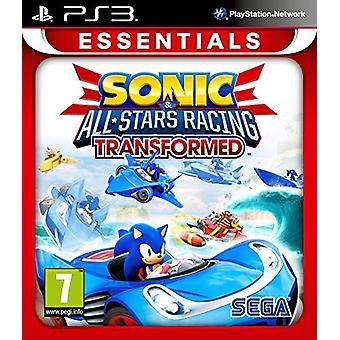 Sonic and All Stars Racing Transformed Essentials (PS3) - Neu
