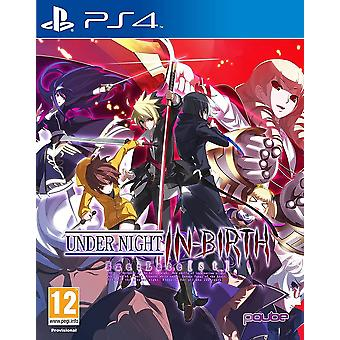Under Night In-Birth Exe Late st Game PS4