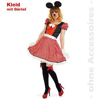 Dames de souris costume costume de Womens comique souris Minniekostüm