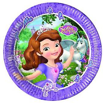 Sofia the First Mystic Isles Prinzessin Party Teller Ø 23 cm 8 Stück Kindergeburtstag Mottoparty
