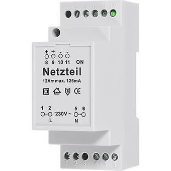 Tensão de entrada do módulo de potência de componentes Conrad (alcance): 230 V AC (máximo). Tensão de saída (intervalo): 12 V DC (máximo.