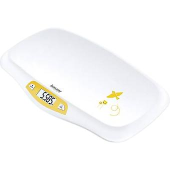 Baby scales 20 kg White, Yellow Beurer BY 80 956.05