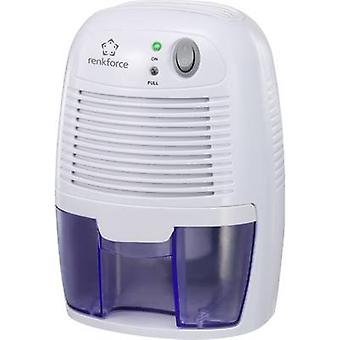 Renkforce HD-68W desumidificador 20 m ² 0,011 l/h, branco, azul