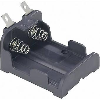 MPD BH223-L Battery tray 1x CR-P2 Solder lug (L x W x H) 47 x 38 x 26 mm