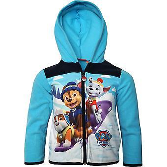 Jungen HQ1172 Paw Patrol Fleece Full Zip Sweatshirt mit Kapuze Größe: 3-6 Jahre