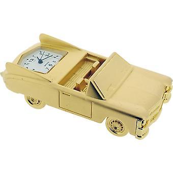 Geschenk-Produkte klassische Cabrio Miniatur Stempeluhr - Gold