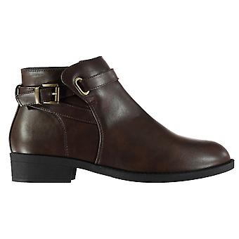Miso Womens Buckle Ladies Boots
