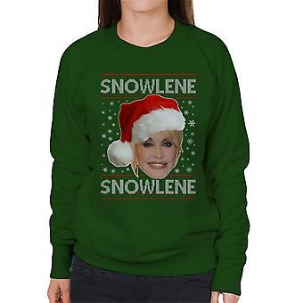 Dolly Parton Snowlene Women's Sweatshirt