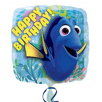 Anagram 18 Inch Finding Dory Happy Birthday Square Foil Balloon