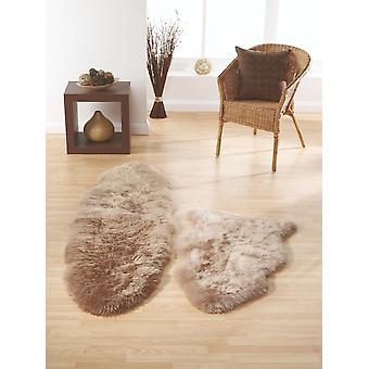 SheepSkins Hug Mink  Rectangle Rugs Plain/Nearly Plain Rugs