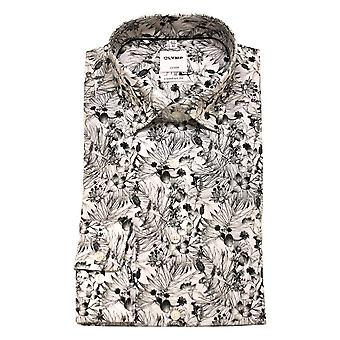 OLYMP Shirt 1030 34 68 Black