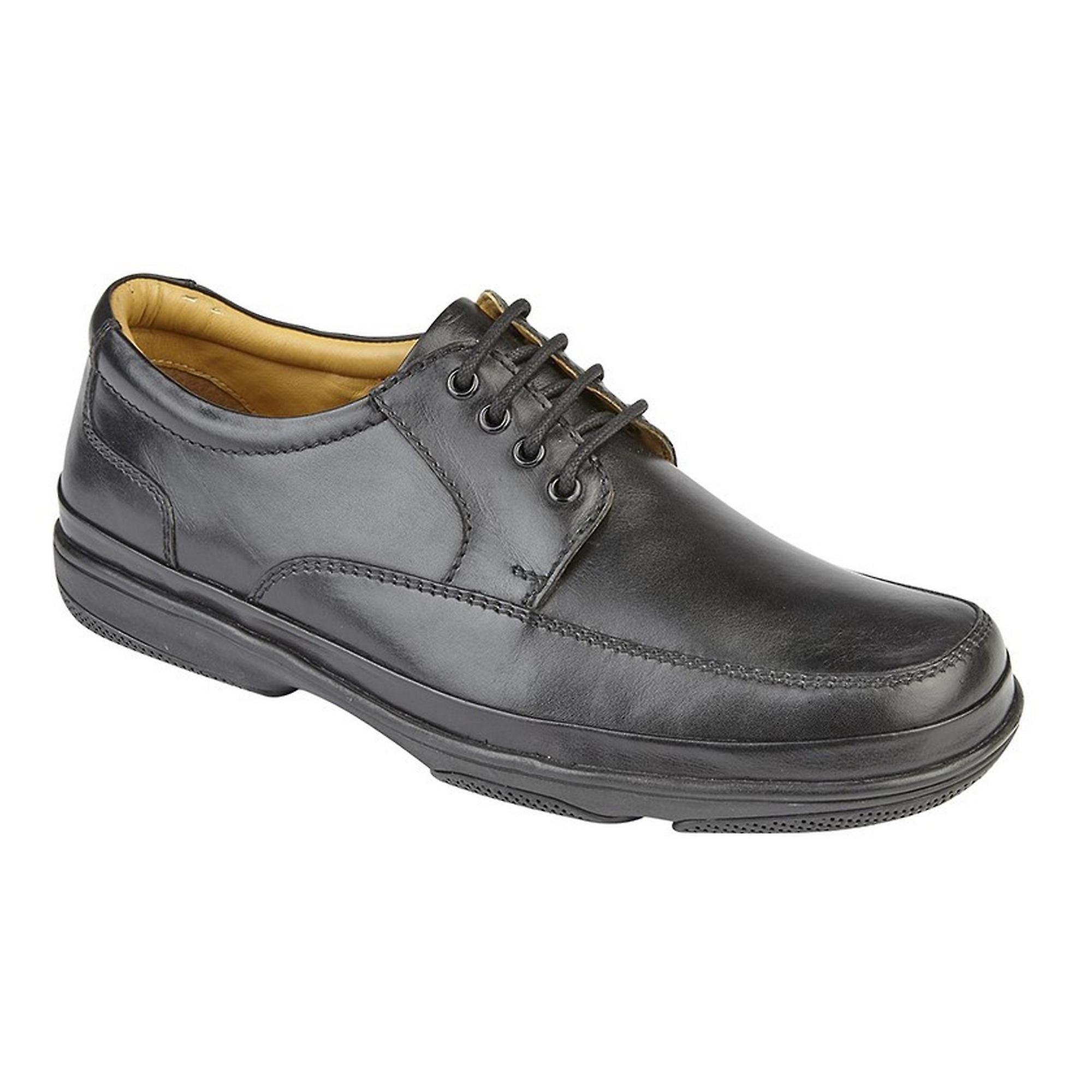 Roamers Mens cuoio larga misura occhio 4 Deluxe scarpe Casual qWW5hO
