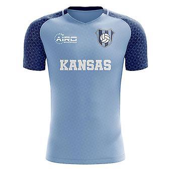 2020-2021 Kansas Home Concept Fotbal Shirt