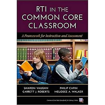 RTI na sala comum de núcleo - um Framework para a instrução e a bunda