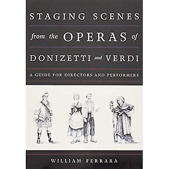 Staging-Szenen aus der Operaspb