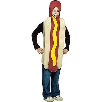Hot Dog kind kostuum