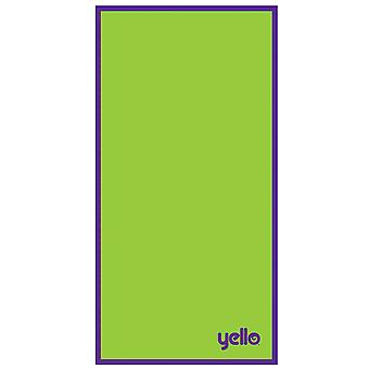 Yello Beach Towel, Green