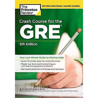 Crash Course for the GRE by Princeton Review - 9780451487841 Book