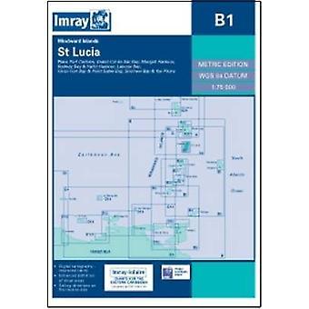 Imray Chart B1 - St Lucia by Imray - 9781846235528 Book